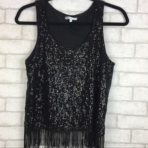 Charlotte Russe Medium Sequence Top
